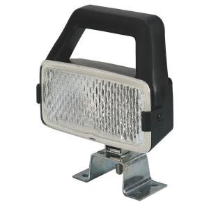 Werklamp Hella met handgreep en schakelaar - 1GD004490001 | 12/24 V | 55/70 W | 140 mm