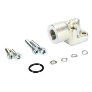 OMT Flens haaks staal 3/8 - 1GQ06ST | 30 mm | 13 mm | 33 mm | 15,88 x 2,62 | 315 bar | 3/8 BSP | M6x20 M6x35