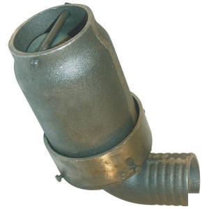 Battioni Pagani Veiligheidsventiel 80 mm BP - 202D | 5000-8000 l/min | 315 mm | 197 mm | 162 mm | 170 mm | 9,6 kg | 197 mm | 125 mm