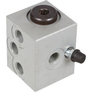 Safim Tweedruk ventiel 20 3169 - 203169 | M 12 x 1 | 100 bar
