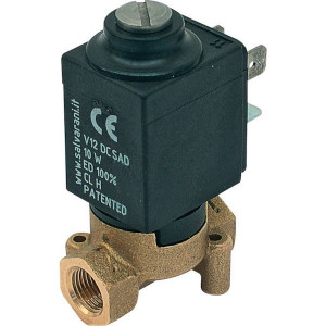"""Elektr. 1/8"""" 2-wegventiel 12V - 210531"""