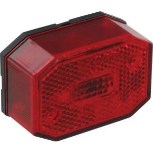 Aspöck Positielicht rood - 216510007 | 12/24 V | 5W SV8,5 | links / rechts
