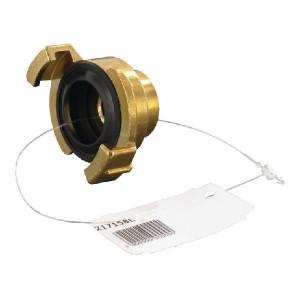 "Koppeling bi. 1/2"" GK - 217158L | Messing | 1/2"" Inch"