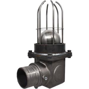 Battioni Pagani Overstroomafsluiter B.P. - 217G | Twee vlotterballen | 10000-18000 l/min | 220 mm | 460 mm | 168 mm | 180 mm | 13,9 kg | 100 mm