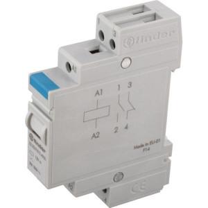 Finder Installatierelais 20A 12V DC - 222390124000 | AgSnO2 | 20 A | 250 V | 12V DC V | 5.000 VA | 1.000 VA | 20/0,3/0,12 A | 1 (10/10) V/mA | 15/8 ms