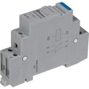 Finder Installatierelais 20A 24V DC - 222390244000 | AgSnO2 | 20 A | 250 V | 24V DC V | 5.000 VA | 1.000 VA | 20/0,3/0,12 A | 1 (10/10) V/mA | 15/8 ms