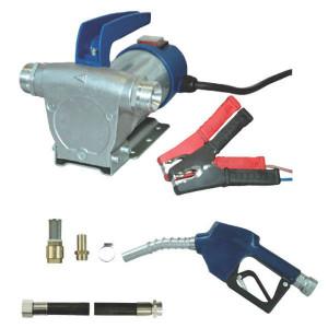FMT Dieseloliepomp cpl. 12V-35 l/m - 23006 | 3.300 Rpm | 35 l/min | 3 m | 200 x 150 x 150 | 7,3 kg