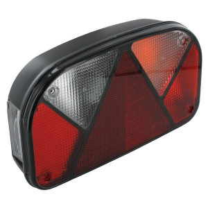 Aspöck Achterlicht re. met kentl. - 247200157 | zijplaatverlichting | versie met tule | rechts