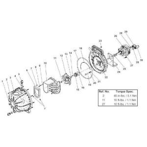 Hypro Motorhyd. HM5C REV ROT - 25000285C