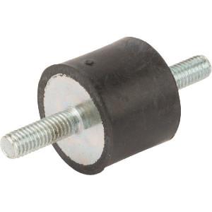 Trillingsdemper TYPE A - 2520A68 | 25 mm | 20 mm | M6 x 18 mm | 68 ° SH