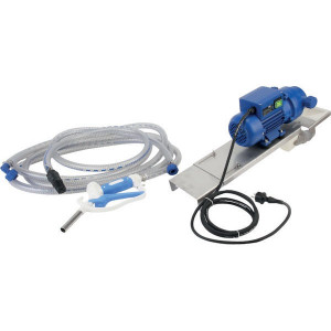 Pressol AdBlue-pomp 35l/min 230V handmatig tankpistool - 25223001 | Gemonteerd op grondplaat | 35 l/min ltr/min | 54 IP | 1 Inch | 1 Inch | 270 x 190 x 160 mm