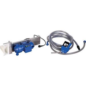 Pressol AdBlue-pomp 35l/min 230V automatisch tankpistool - 25224001 | Gemonteerd op grondplaat