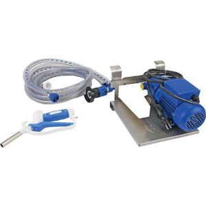 Pressol AdBlue-pomp 35l/min 230V handmatig tankpistool - 25226001 | Gemonteerd op grondplaat