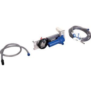 Pressol AdBlue-pomp 30l/min 24V handmatig tankpistool - 25263001 | Gemonteerd op grondplaat