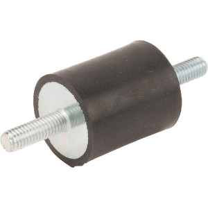 Trillingsdemper TYPE A - 2530A55 | 25 mm | 30 mm | M6 x 18 mm | 55 ° SH