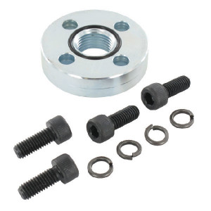 Oleo Tecnica Aansluitflens 1/2 - 2DF08 | Max. 300 bar | 58 mm | 8,5 mm | 1/2 BSP | 25,12 x 1,78 | M8 x 20