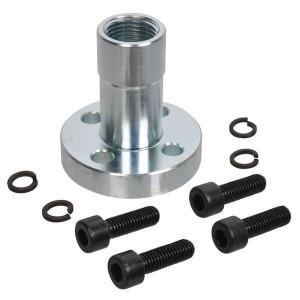 Oleo Tecnica Aansluitflens 1/2 - 2DPF08 | Max. 300 bar | 58 mm | 8,5 mm | 1/2 BSP | 60 mm | 26,5 mm | 25,12 x 1,78