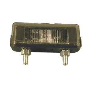 Kentekenlamp Hella - 2KA001389101 | 12/24 V | 5 W | E1 12815