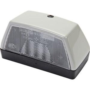 Hella Kentekenplaatverlichting, R10W - 2KA003389001 | 102 mm | 56,5 mm | 12/24 V | 10 W | E1 22819