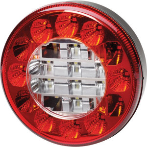 Hella ValueFit LED-mistachterl/achteruitrijl. - 2NR357027051 | 10-30 V | 122x122x43 mm | 260 mm | 122 mm | 10/30 V | E9 1288/ ECE