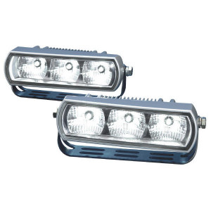 Hella Dagrijlichten LED - 2PT009496801 | Controlenummer: E1 2344 | Zelfrijdende voertuigen | 12/24 V | 5/11 W | 12/24/9-->33 V | E1 2344