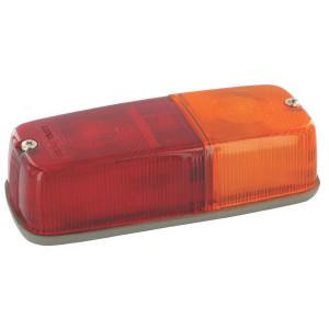 Hella Achterlamp - 2SD001305021   links / rechts   12/24 V   155 mm   rood / oranje   K 33265   K 33265
