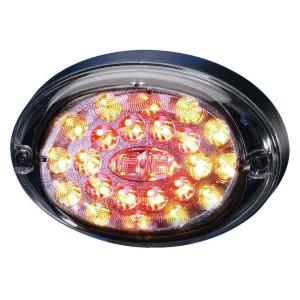 Hella LED-Achterlicht Agroluna - 2SD343390011 | Controlenummer: E4 11785 | 12/24 V | 100 mm | 12/24/9-->32 V | E4 11785/ ECE | 100 mm