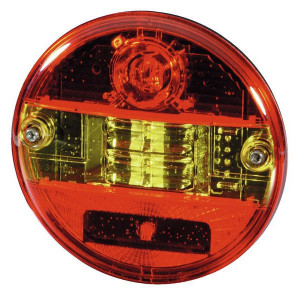 Hella LED-Achterlicht - 2SD344100001 | Controlenummer: E4 13136 | Horizontale inbouw | 12/24 V | 500 mm | 9-->32 V | E4 13136/ ECE;ADR/GGVS | 500 mm