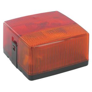 Hella Achterlamp - 2SE004623001   links / rechts   102 mm   rood / oranje / wit   E17 408, E17 630, E17 763   E17 408/ E17 630/ E17 763