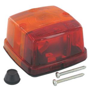 Hella Achterlamp - 2SW003014131 | Achterknipperlicht | links / rechts | Opbouw | 12/24 V | rood / oranje | E1 31452, E1 53211 | E1 31452/ E1 53211
