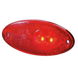 Hella LED-Achterlicht - 2TM964295101 | Controlenummer: E17 0302 | Afmetingen: 102 x 45mm | 0,5 W | 5.000 mm | 500 cm | E17 0302 | 5.000 mm