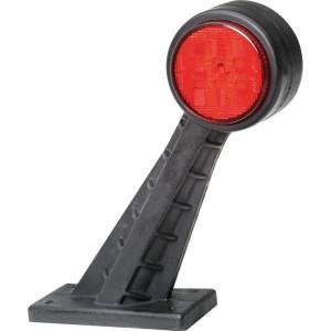 Hella ValueFit LED-positielicht voor/achter - 2XS357004021 | 142.5x160x45 mm | rechts | 12/24 V | 60 ° | 8 LED's | E9 6754/ ECE