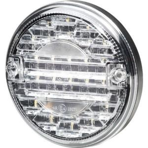 Hella LED-achteruitrijlamp - 2ZR357026041 | Controlenummer: E4 10208 | Opbouw | 12/24 V | 10-->30 V | 140 mm | E4 23271/ ECE