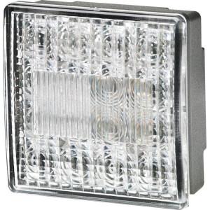 Hella LED-achteruitrijlamp - 2ZR357029051 | Controlenummer: E4 10208 | Opbouw | 80 x 80 x 33,7 mm | E4 23474/ ECE