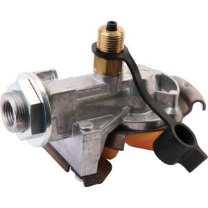 Haldex Snelkoppeling Protect-O geel - 334085001 | met meetpunt | M16 x 1,5 | remleiding | Aanhangwagen