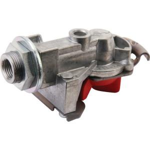 Haldex Snelkoppeling Protect-O rood - 334086001 | met filter | M16 x 1,5 | voorraad | Aanhangwagen