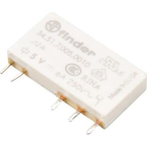 Finder Relais 1W 6A 5VDC S. - 345170050010