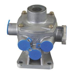 Haldex Aanhangerremventiel 1- en 2-krings - 351001141 | 1/2-leiding | 5,8 / 8,0 bar | 5x M22x1,5