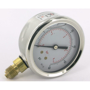 Hypro Manometer - 360060G | 0-4 in 1/10 | 63 mm | 0 4 bar