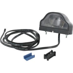 Aspöck Kentekenlamp Regpoint - 363209027 | 100 mm | 1.500 mm | 5 W