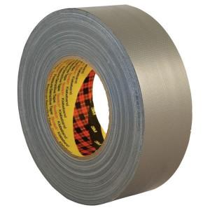 3M Duct Tape Premium 389 50mmx50m - 38950S | Textiel | Aluminium | 0.26 mm