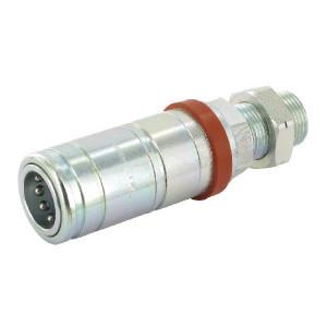 "Faster Koppelhuis 1""UNS AG - 3CFPV121UNSF | Eenvoudig te bedienen | NBR / PTFE | Wit gepassiveerd | 1"" UNS | 1/2"" | 68 l/min | OEM: Case | 34,5 mm | 152,3 mm | 250 bar | 130,3 mm | (ORFS) Schot"