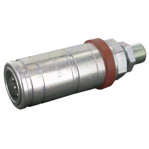 "Faster Koppelhuis M18x1,5-12L Schot - 3CFPV71815F | Eenvoudig te bedienen | NBR / PTFE | Wit gepassiveerd | M18 x 1,5 AG | 1/2"" | 68 l/min | OEM: Agritalia | 143,5 mm | 250 bar | 121,5 mm | Schot 12L | 12,2 mm"