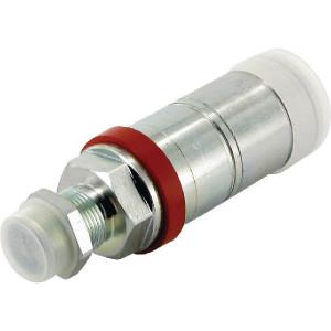Faster Koppelhuis M22x1,5-15L Schot - 3CFPV72215F | Eenvoudig te bedienen | NBR / PTFE | Wit gepassiveerd | 15L-M22x1,5 | 68 l/min | OEM: DeutzFahr | 15,2 mm | 145,5 mm | 250 bar | 123,5 mm | Schot 15L