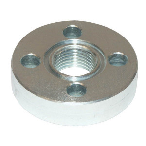 Oleo Tecnica Aansluitflens female 3/4 - 3DF12 | Max. 300 bar | 76 mm | 10,5 mm | 3/4 BSP | 31,42 x 2,62 | M10 x 25