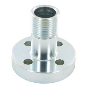 Oleo Tecnica Aansluitflens male 1 - 3DPM16 | 76 mm | 10,5 mm | 1 BSP | 72 mm | 31,42 x 2,62 | M10x25