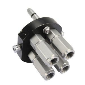 "Faster Multi plug DN10-4x1/2""BSP - 3P506G412GMC | 4 Koppelingen DN10 | Polyurethaan \ PFTE | 250 bar | 350 bar | 1/2"" | 40 l/min"