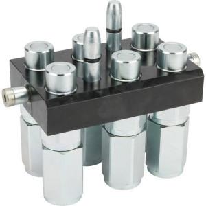 "Multifaster 6x1/2"" - 3P608612GMC | 6 Koppelingen DN12 | Polyurethaan \ PFTE | 250 bar"