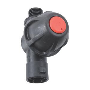 Arag Dophouder met 1 dopaansluiting en buitendraad - 402275 | 0,5 bar | 1/4 BSP