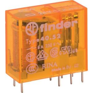 Finder Relais 2W 8A 24VAC - 405280245000